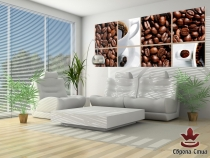 фототапет композиция с кафе